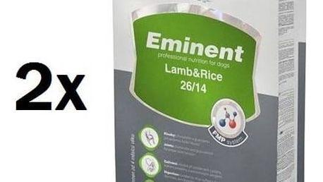 Granule Eminent Lamb&Rice 2 x 15 kg + 2 kg ZDARMA + Doprava zdarma