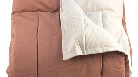 BO-MA Deka camping Ella hnědá, 150 x 200 cm,