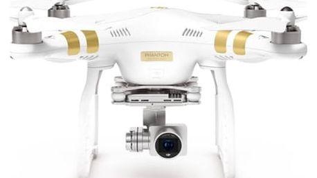 Dron DJI Phantom 3 Professional, 4K Ultra HD kamera (DJI0322) (DJI0322) bílý + DOPRAVA ZDARMA