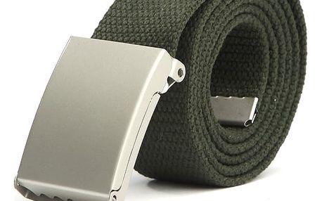 Unisex pásek s kovovou přezkou - 14 barev