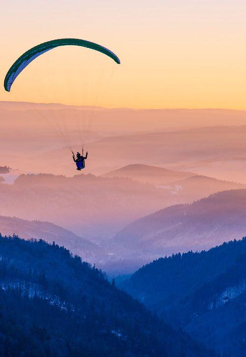 paragliging na Skrz.cz