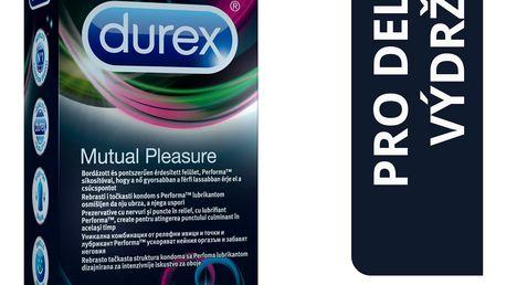 DUREX Mutual Pleasure 16 ks - kondomy pro oddálení ejakulace
