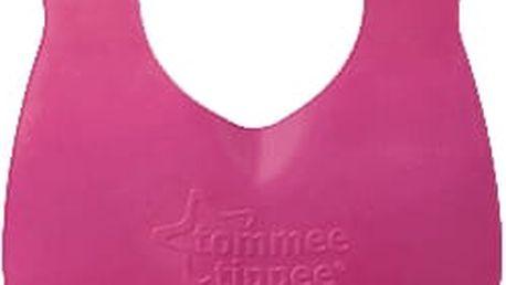 TOMMEE TIPPEE Plastový bryndáček rolovací Explora, růžovofialový