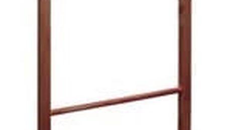 Němý sluha dřevěný, hnědá