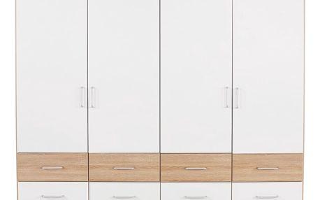 Skříň šatní aalen-extra, 181/197/54 cm