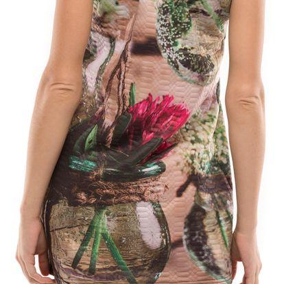 Culito from Spain barevné šaty Romance en Flor