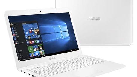 Notebook Asus E402NA-GA167T (E402NA-GA167T) bílý Software Microsoft Office 365 pro jednotlivce CZ + Software F-Secure SAFE, 3 zařízení / 6 měsíců + Monitorovací software Pinya Guard - licence na 6 měsíců v hodnotě 2 278 Kč + DOPRAVA ZDARMA