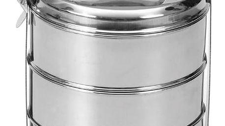 Nerezový jídlonosič 3x pr. 16 cm