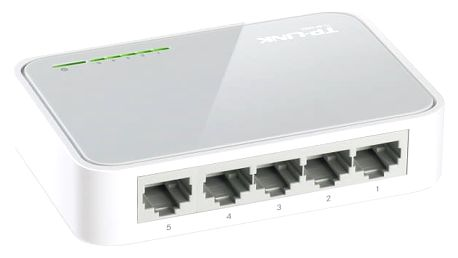 Switch TP-Link TL-SF1005D (TL-SF1005D) 5 port, 10/100 Mb/s