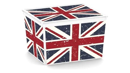 C Box Union Jack Cube 27l
