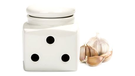 Maxwell & Williams White Basics dóza na česnek