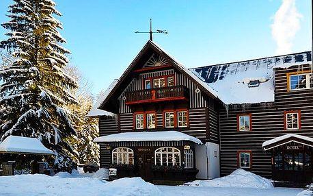 3 až 5denní wellness pobyt pro 2 v hotelu Tři růže***+ v Krkonoších