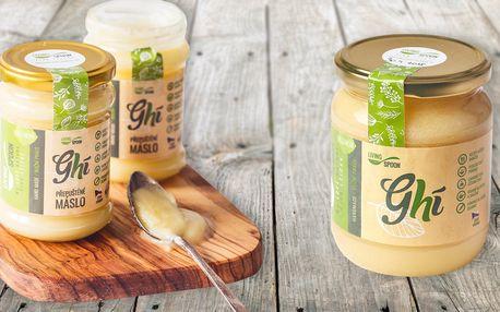 Tradiční přepuštěné máslo Ghí od českého výrobce