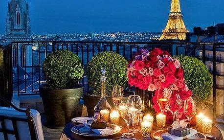 5denní zájezd do Paříže na Valentýna se sektem do páru a ubytováním pro 1 osobu