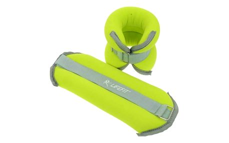 LIFEFIT ANKLE/WRIST WEIGHTS 2 x 1,0kg zelené