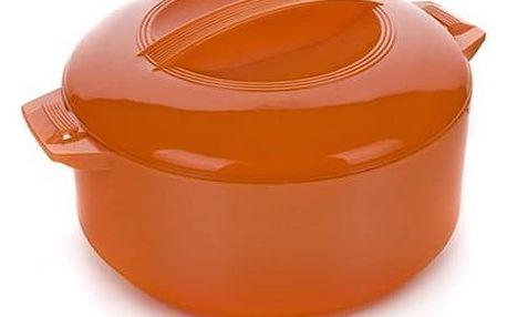 BANQUET Termohrnec 2,5L Culinaria s poklicí, barva oranžová, 2,5 l