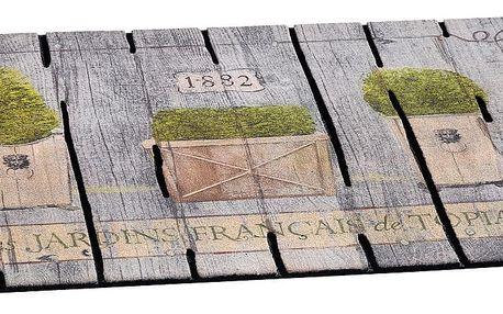 Vopi venkovní rohožka French garden, 46x76 cm