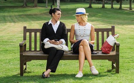 2 lístky na romantickou komedii Madam služebná