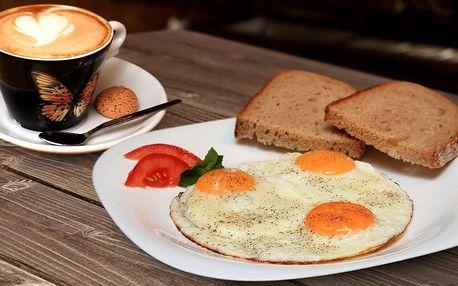 Snídaně dle vlastního výběru
