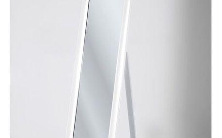 Bílé volně stojící zrcadlo Kare Design Modern Living, výška 170 cm - doprava zdarma!
