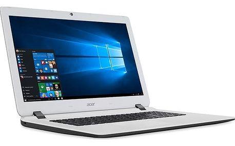Notebook Acer ES17 (ES1-732-C4KF) (NX.GH6EC.002) černý/bílý + DOPRAVA ZDARMA