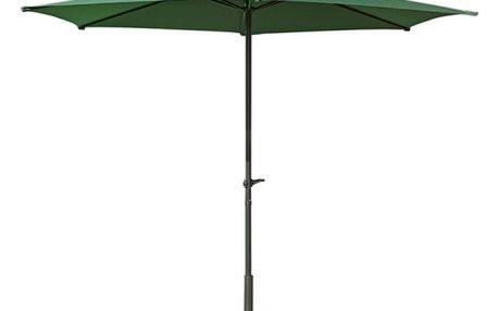 WOOD 3897 Slunečník ø 270 cm - zelený