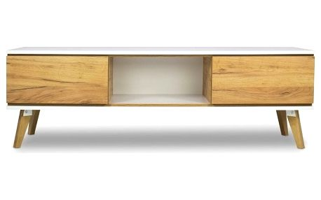 TV komoda v dekoru dřeva SKANDICA Jorgen - doprava zdarma!