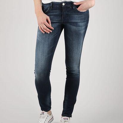Džíny Diesel Skinzee-Low-Zip L.32 Pantaloni Modrá