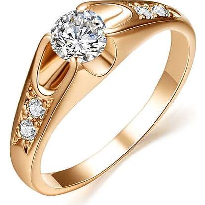 Dámský zásnubní prsten - 2 barvy