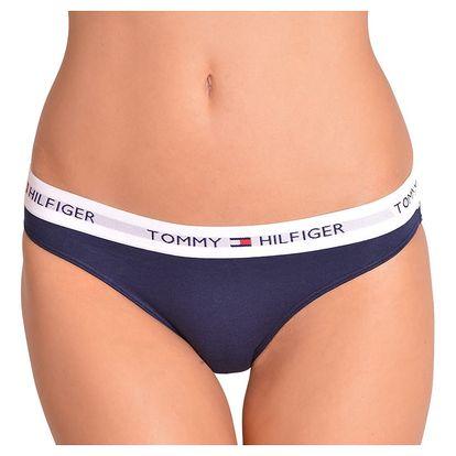 Dámské kalhotky Tommy Hilfiger iconic tmavě modré