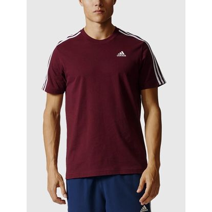 Tričko adidas Performance ESS 3S TEE Červená