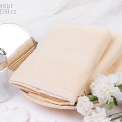 XPOSE ® Froté ručník VERONA - vanilková 50x90 cm