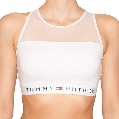 Dámská sportovní podprsenka Tommy Hilfiger bílá