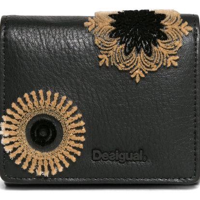 Desigual černá peněženka Square Rubi
