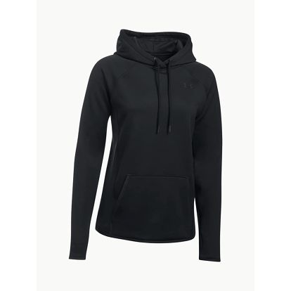 Mikina Under Armour Fleece Hoodie-Solid Černá