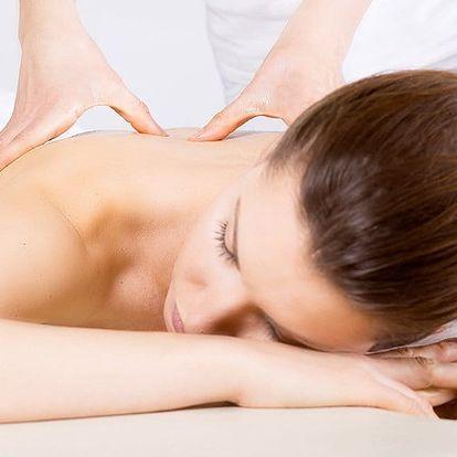 Masáž pro odstranění bolesti zad, šíje a rukou