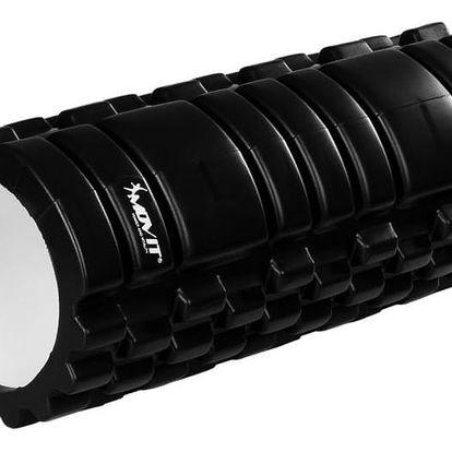 MOVIT FITNESS ROLLER 40576 Posilovací masážní válec - černá