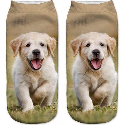 Ponožky se štěňátkem - dodání do 2 dnů