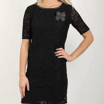 Šaty Replay W9684 Dresses Černá
