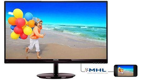 Monitor Philips 274E5QHSB (274E5QHSB) černý + DOPRAVA ZDARMA