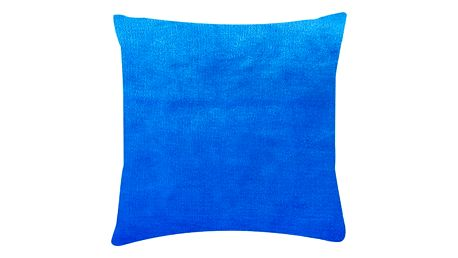 XPOSE ® Povlak na polštář mikroflanel - modrá 40x40 cm
