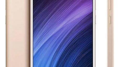 Mobilní telefon Xiaomi 4A 16 GB Dual SIM CZ LTE (PH3690) zlatý