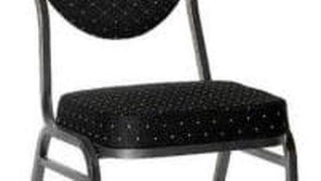 A.B.C. Worldwide 1145 Kvalitní kovová židle MONZA černá