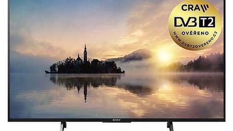 Televize Sony KDL-55XE7005B černá + Doprava zdarma