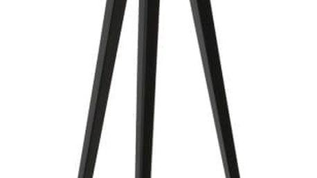 Černo-šedá stojací lampa Zuiver Tripod - doprava zdarma!