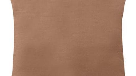 XPOSE ® Povlak na polštář MICHAELA - hnědá 40x40 cm