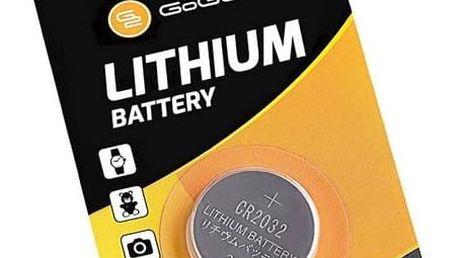 Baterie lithiová GoGEN CR2032, blistr 1ks (GOGCR2032LITHIUM1) stříbrná