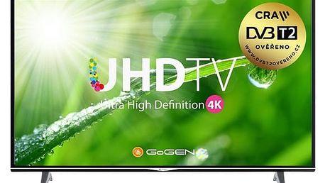 Televize GoGEN TVU 49S298 STWEB černá + DOPRAVA ZDARMA