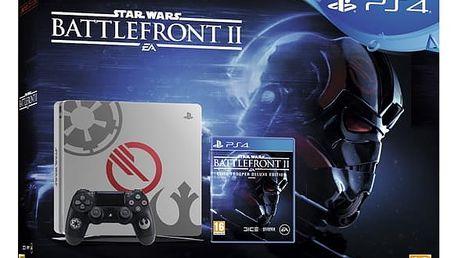 Herní konzole Sony SLIM 1TB Speciální edice StarWars Battlefront II (PS719970668) + DOPRAVA ZDARMA