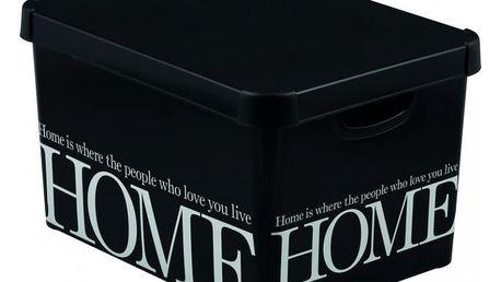 CURVER DECO HOME 32992 Plastový úložný box -L